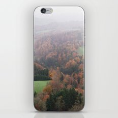 FOGGY SWITZERLAND iPhone & iPod Skin