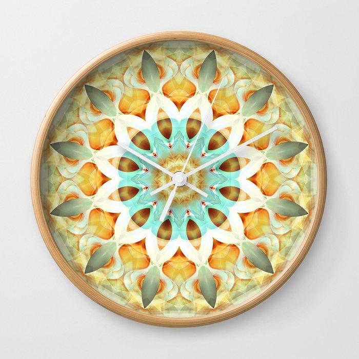 Mandala soft touch Wall Clock