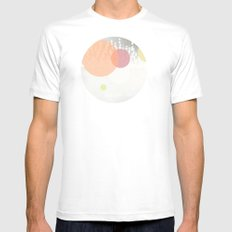 Dots//Six White Mens Fitted Tee MEDIUM