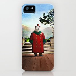 Ambassador Ulysses Ursa in the Embassy Gardens iPhone Case