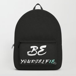 Be yourself(ie) Backpack