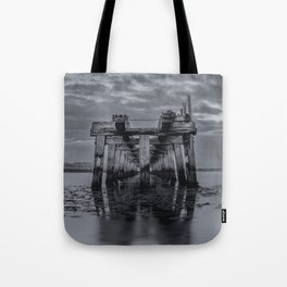 Old Wooden Bridge 2 Tote Bag
