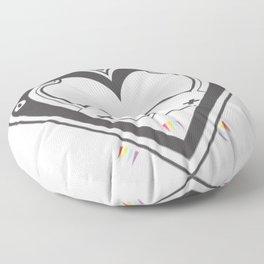 HEART ♥ DROP Floor Pillow