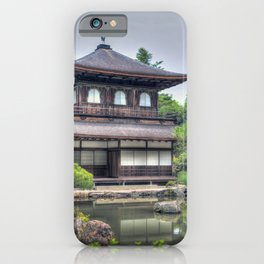 Ginkaku Ji Temple iPhone Case