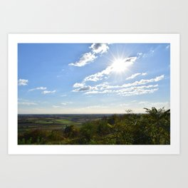 panorama / landscape Art Print