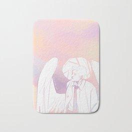 cloud angel Bath Mat