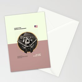 The Right To Bear Arms Stationery Cards