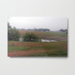 Painted Hillside Metal Print
