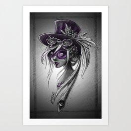 Violet ! Art Print