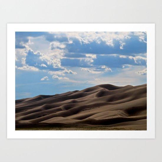Forever  sandy Art Print