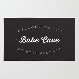 The Babe Cave Rug