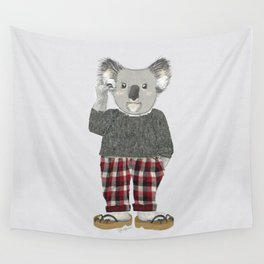 Koala Man Wall Tapestry