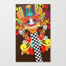 Barong Pop Art Canvas Print