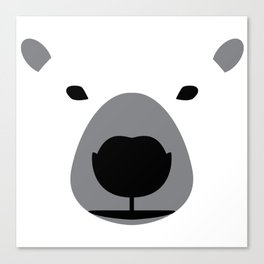 Be the Bear Canvas Print