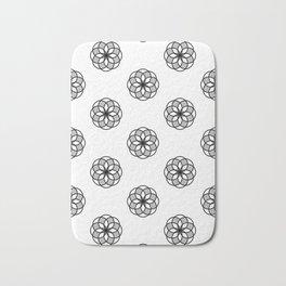 Floral Basic Bath Mat