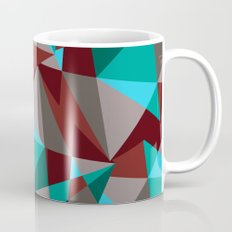 Triangle cubes Mug