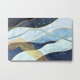 Waves 05 Metal Print