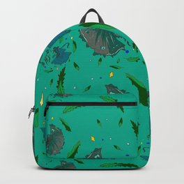 Angry Fish Backpack