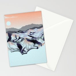Serene Mountains Stationery Cards