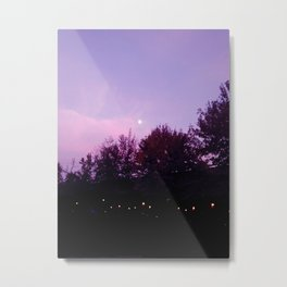 moony Metal Print