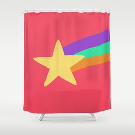 Mabel Star Shower Curtain