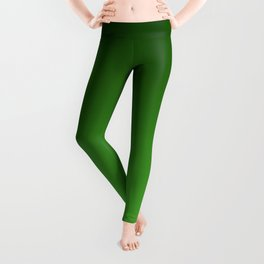 Green Ombré Gradient Leggings