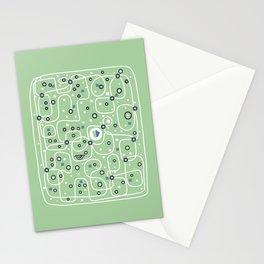 Seguridad [Mint] Stationery Cards