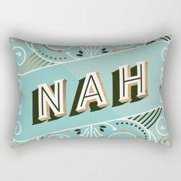 Nah – Mint & Rose Gold Palette Rectangular Pillow