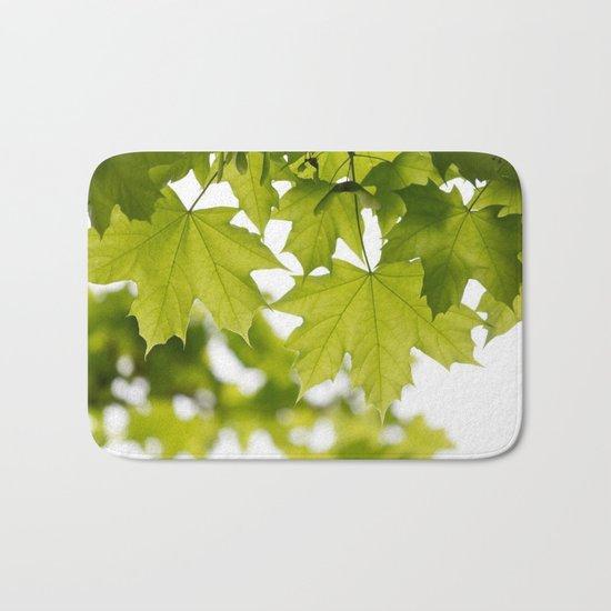 The Green Leaves of Summer Bath Mat