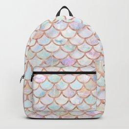 Pastel Memaid Scales Pattern Backpack