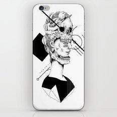 Skull and Woman 02 iPhone & iPod Skin