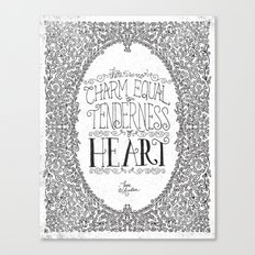 TENDERNESS OF HEART Canvas Print