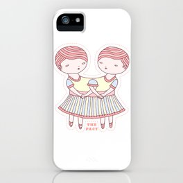 The Pact iPhone Case