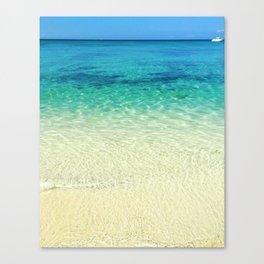 Caribbean Color Canvas Print