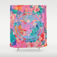 hawaii Shower Curtains featuring Hawaii by Marta Olga Klara