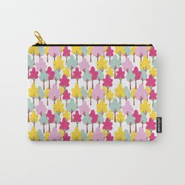Whimsical Forest in Pastel Tones Carry-All Pouch
