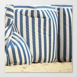In The Beach Canvas Print
