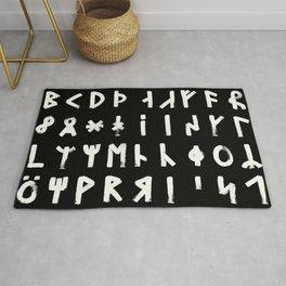 Dalecarlian Rune Set Rug