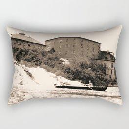 American Graphite Plant, Ticonderoga, NY 1930-42 Rectangular Pillow