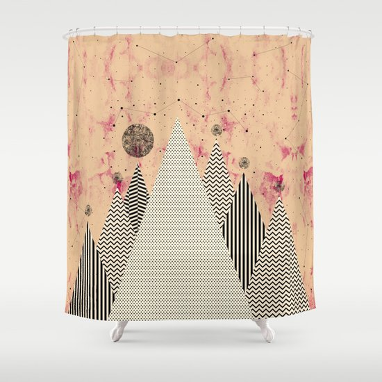 M.F. V. xii Shower Curtain