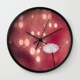 Wishes for you  Wall Clock