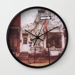 Montreal Biking Wall Clock
