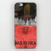 radiohead iPhone & iPod Skins featuring Radiohead 20 by W. Keith Patrick