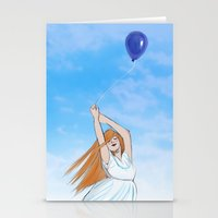 snk Stationery Cards featuring snk by fayestardust