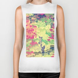 Abstract Painting II Biker Tank