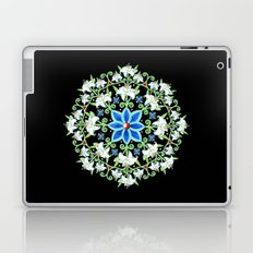 Folkloric Flower Crown Laptop & iPad Skin