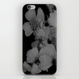 Flower Portrait iPhone Skin
