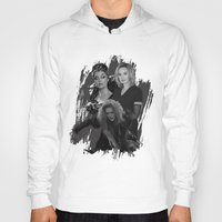 jessica lange Hoodies featuring The Witches - Susan Sarandon, Jessica Lange and Meryl Streep by BeeJL