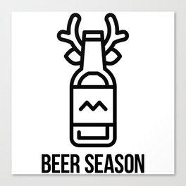 Beer Season Canvas Print