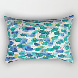 Splash #abstract #buyart Rectangular Pillow